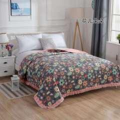 2020 全棉床盖 花儿朵朵 200*230